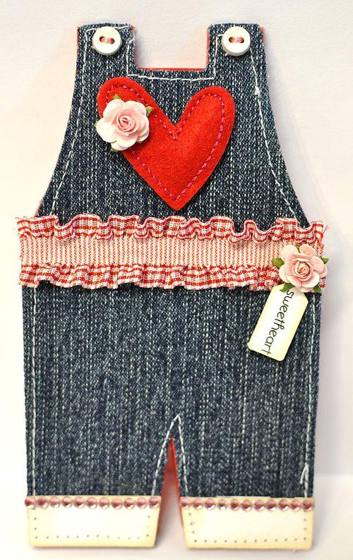 Sweetheart overalls