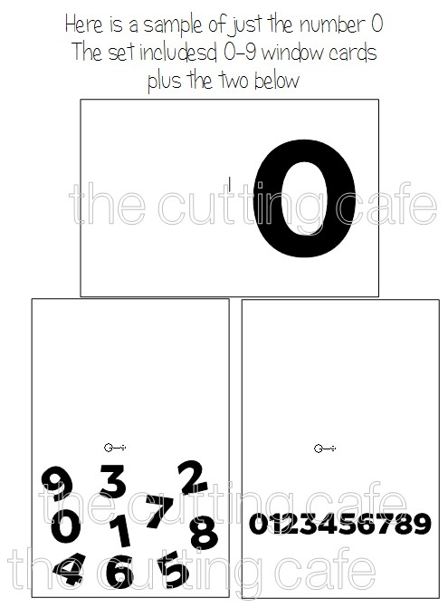 Number window