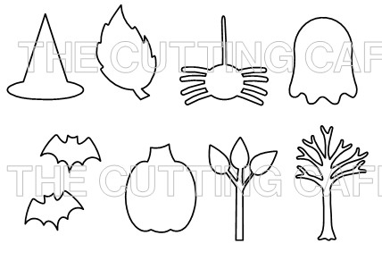 The Cutting Cafe Halloween  Fall Milk Carton Template  Cutting