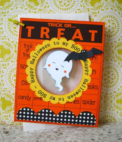 Trick or TREAT  Lori Hairston - Halloween Time and To My Boo