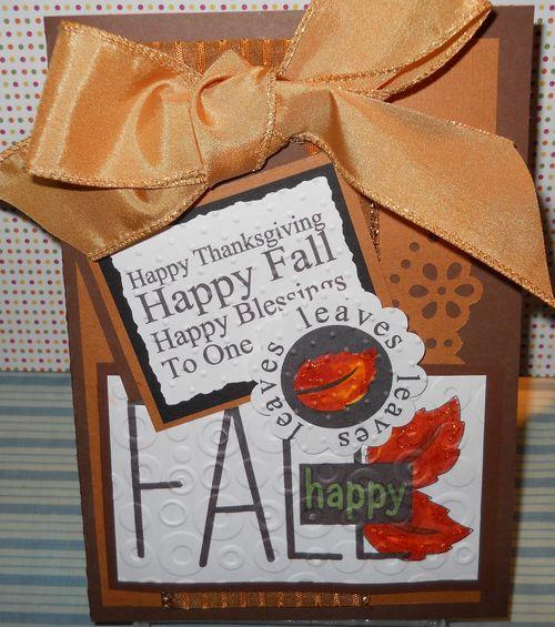 Happy FALL  Carole Lowe Beath - Welcome Fall