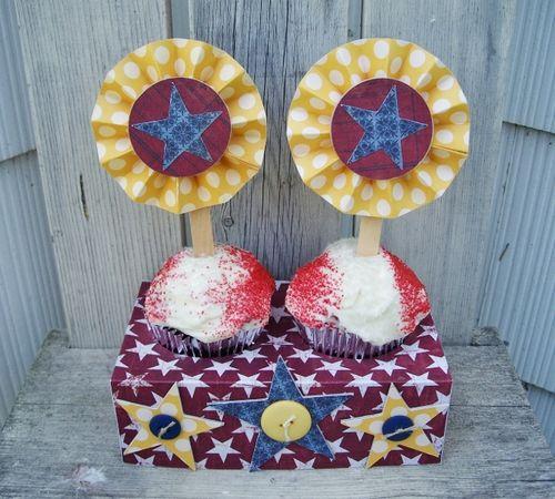 Debbie cupcake holders