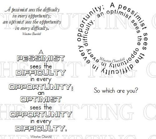 PESSIMST OPPORTUNITY