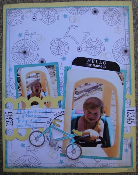 Leah  jot it down and lets go for a ride and bicycle background