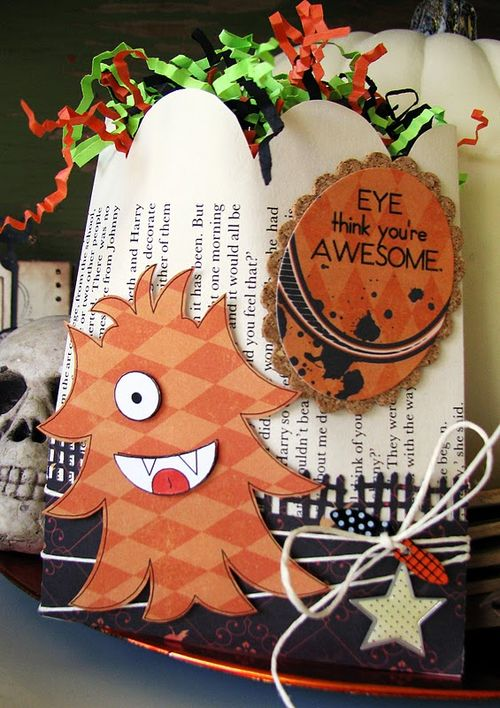 Eye think you're AWESOME - DeeDee Campbell - A bunch of monsters