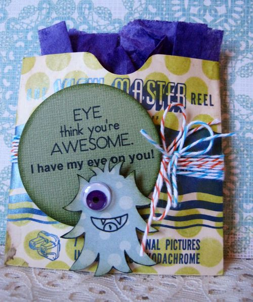Eye think you're AWESOME - Lori Hairston -  A bunch of monsters