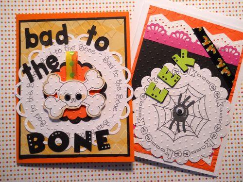 Bad to the BONE  Carole Lowe Beath - Halloween all around