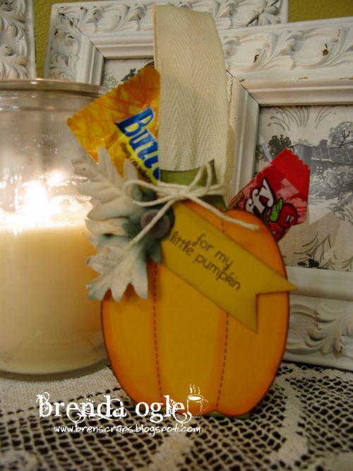 FOR MY LITTLE PUMPKIN - Brenda Ogle - Pumpkin Treat box