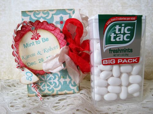 Mint to Be  Lori Hairston - Tic Tac box