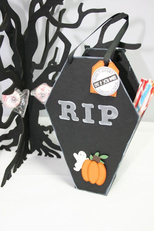 RIP  Janie Mckissick - Coffin treat box
