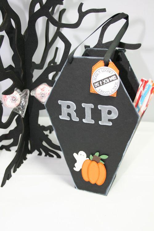 RIP  Janie Mckissick - Coffin treat box