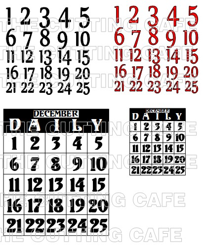 DAILY NUMBERS