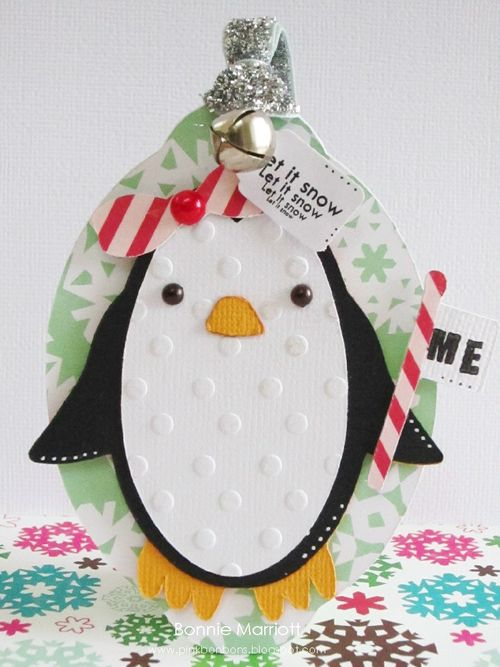 Let it snow  Bonnie Marriott - December Daily and Fun with Penguins