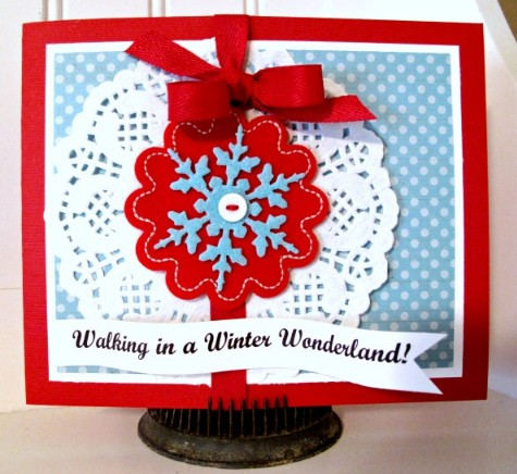 Walking in a Winter Wonderland  Laura Davis - December Daily