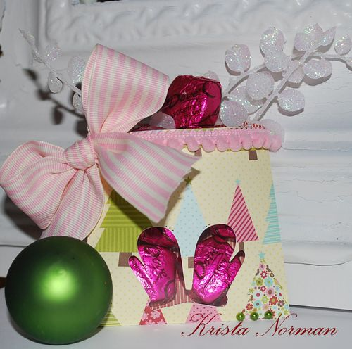 Mittens  Krista Norman - Christmas pockets