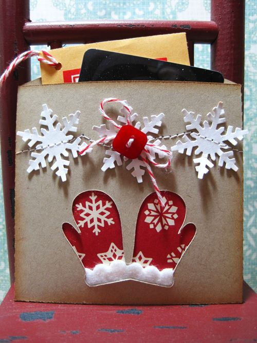 Mittens  Lori Hairston - Christmas pockets
