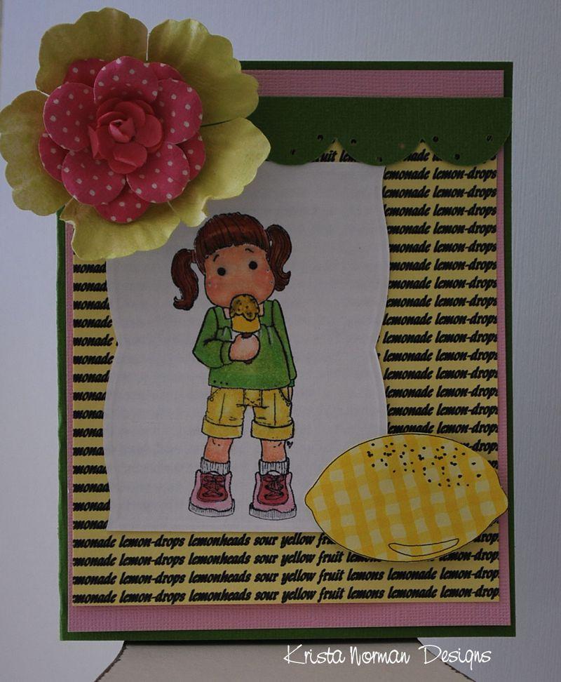 Lemons  Krista Norman - Love of lemons and Lemon drops background
