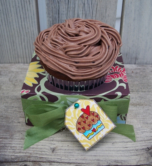 Debbie fisher all about cupcake and and cupcake holder