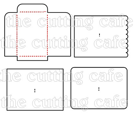 The Cutting Cafe Envelope Cutting FileTemplate