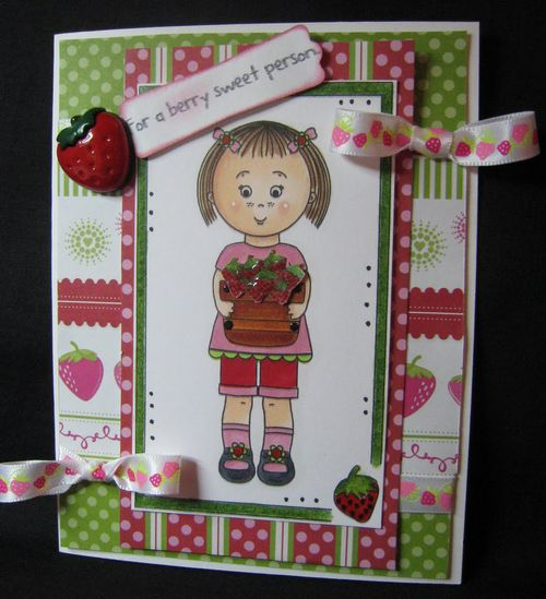 For a berry sweet person  Dianne Stohfus - Mikala Ann basket just for you