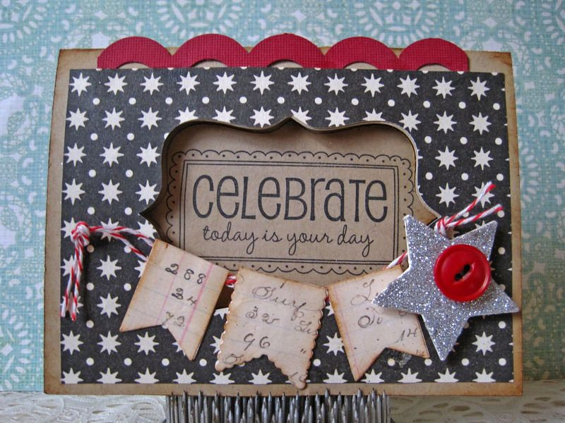Celebrate  Lori Hairston - window cards
