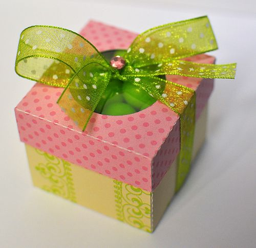 Pink gum box