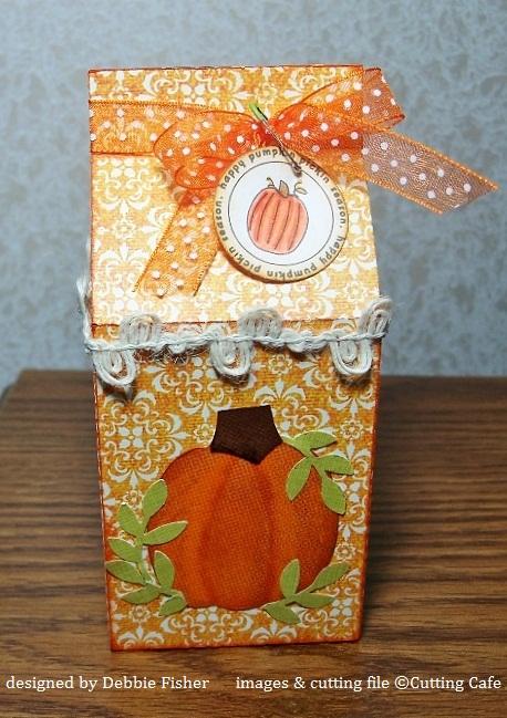 Debbie milk carton