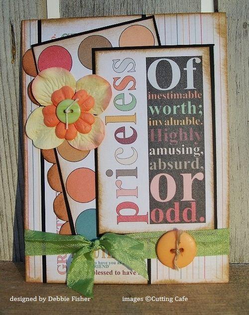Priceless  Debbie Fisher - With Gratitude