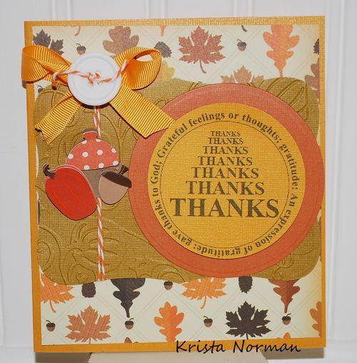 Thanks  Krista Norman - With Gratitude