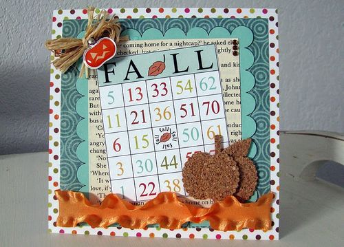 FALL  DeeDee Campbell - Fall time bingo