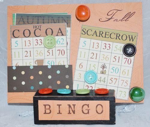 BINGO  Lori Warner - Fall time bingo