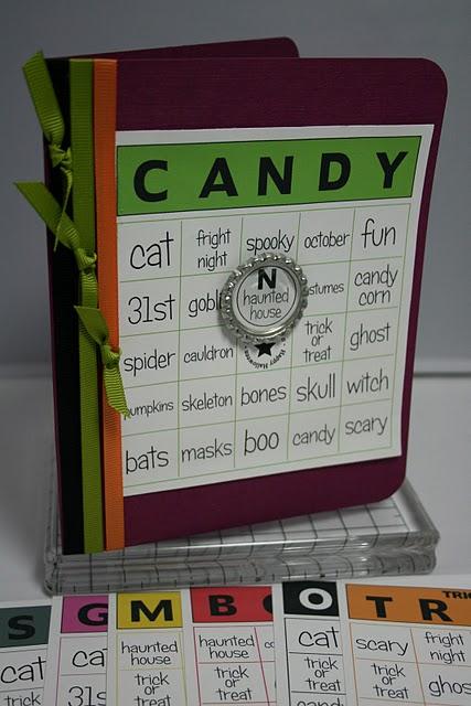 Candy Janie  Halloween Bingo