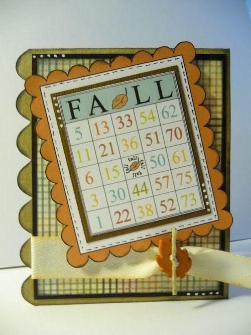 Fall  Jeri Thomas - Fall time bingo