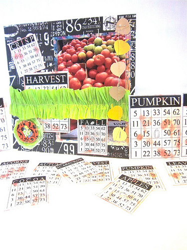 Fall Layout Bonita Rose - Fall time bingo