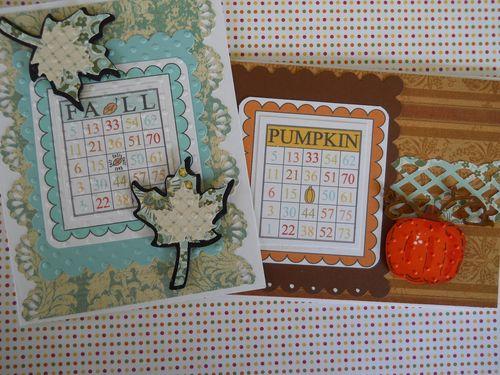 FALL SET  Carole Lowe Beath - Fall Time Bingo