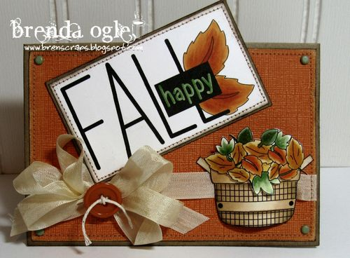 Fall  Brenda Olga - Welcome Fall