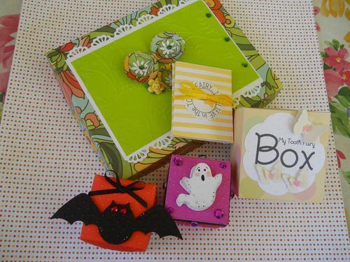 Assorted boxes  Carole Lowe Beath - Tiny box sets
