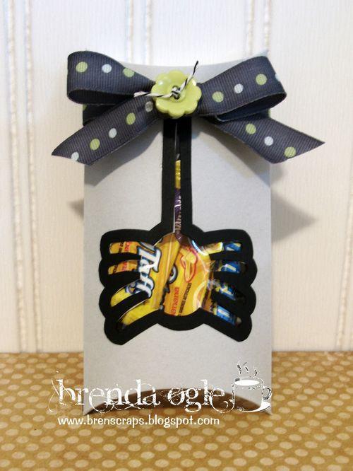 Spider pillow box  Brenda Ogle - Halloween pillow box set