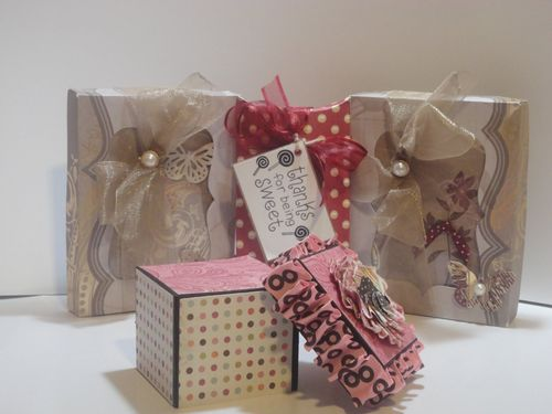 Thanks for being sweet  Tmika Miller - Stationery box assort pillow box