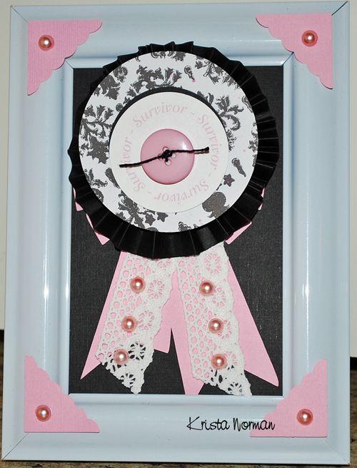 Survivor  Krista Norman - Think Pink