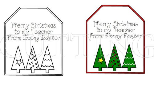 CUSTOM CHRISTMAS TAGS 1