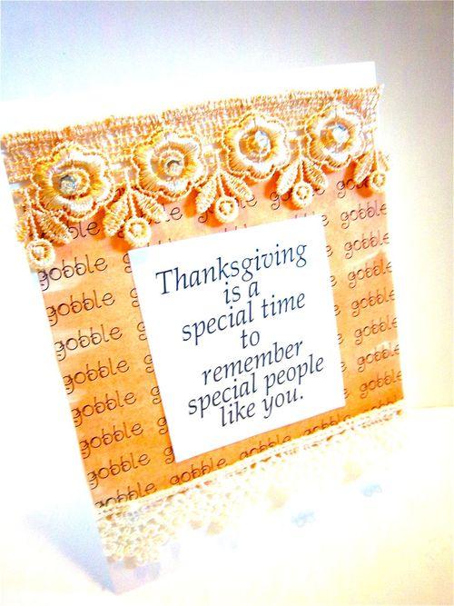 Gobble  Bonita Rose - Thanksgiving Day