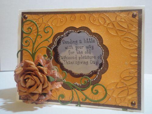 Thanksgiving  Tmika Miller - Thanksgiving Day