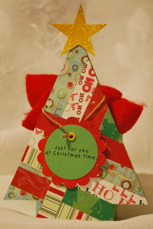 Christmas Time  Lori Warner - Christmas tree treat box