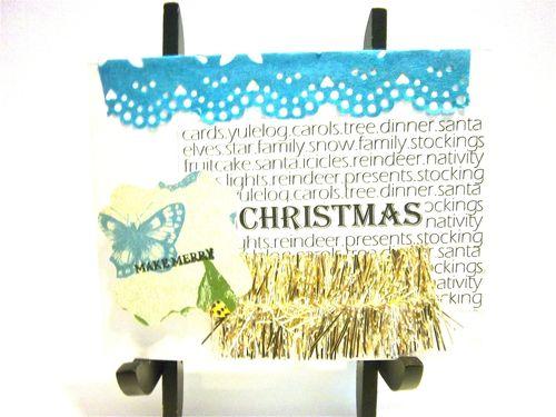Merry Christmas  Bonita Rose - Holiday big words
