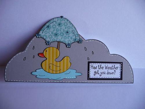 Has the weather got you down  Jeri Thomas - Rain Rain go away