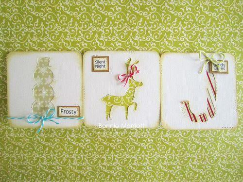 Christmas Cards  Bonnie Marriott - Christmas card fun and Christmas mini words