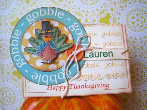 GOBBLE  Lori Hairston - Thanksgiving Day