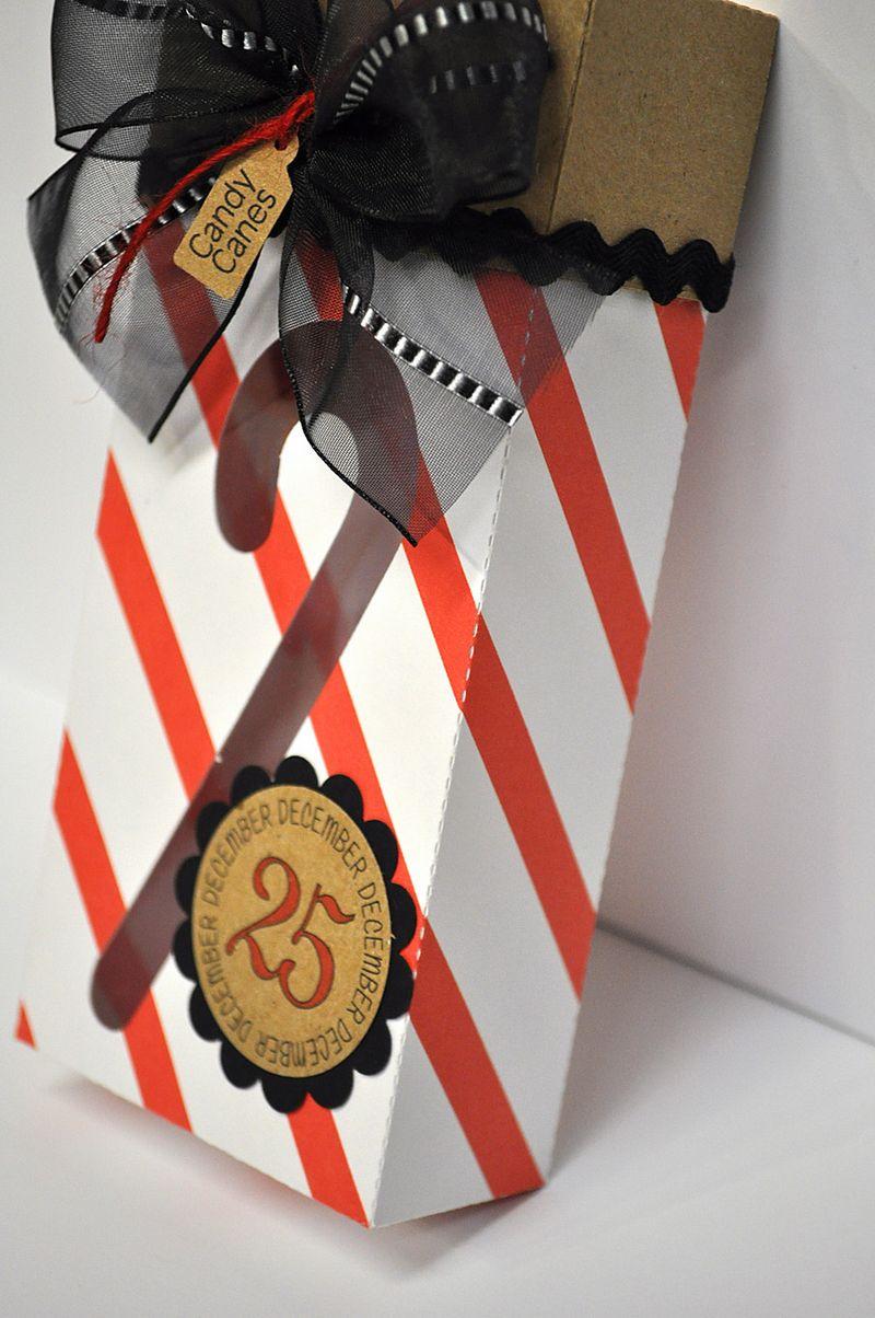 Candy cane box 1