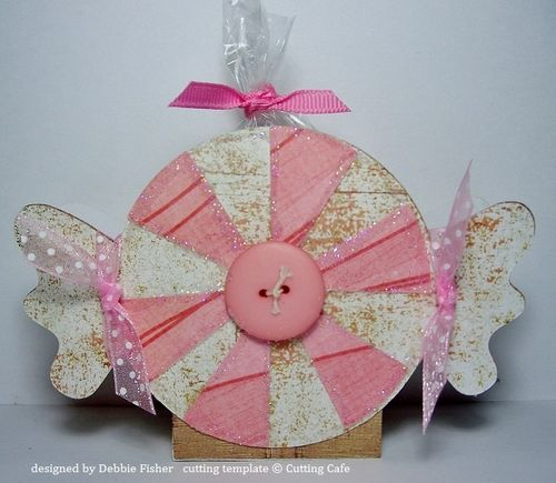 Peppermint box  Debbie Fisher - Peppermint Treat box